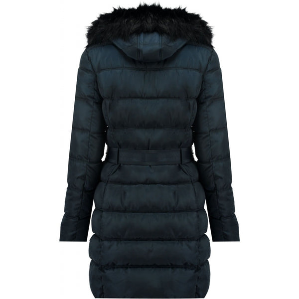 Geographical Norway Geographical Norway vinterjakke dame Diamentera LONG Winter jacket Navy