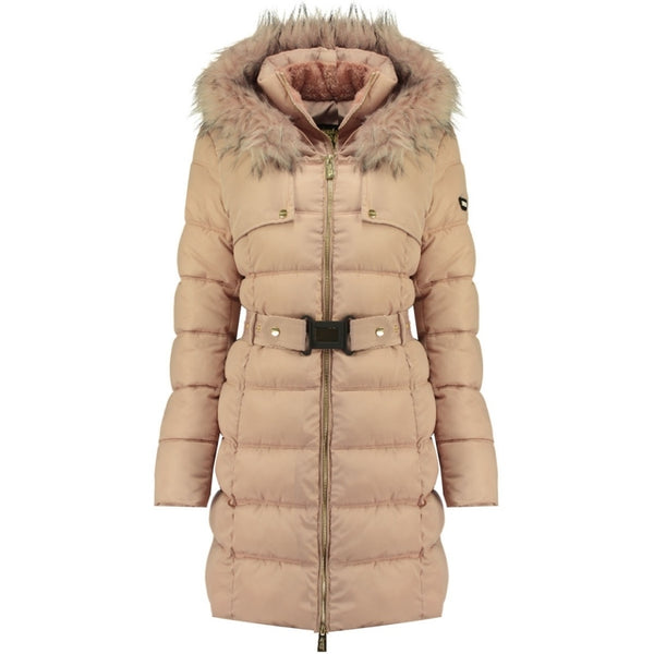 Geographical Norway Geographical Norway vinterjakke dame Diamentera LONG Winter jacket Rose