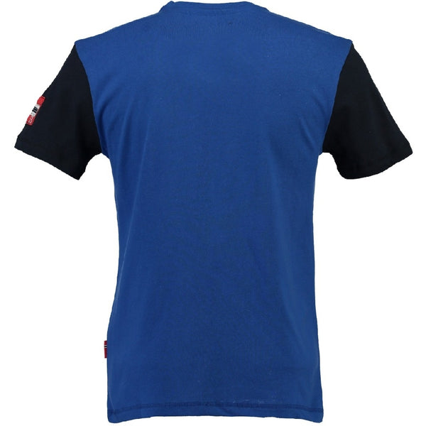 Geographical Norway Geographical norway børn tee Jamlager T-shirt Blue