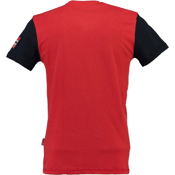 Geographical Norway Geographical norway børn tee Jamlager T-shirt Red