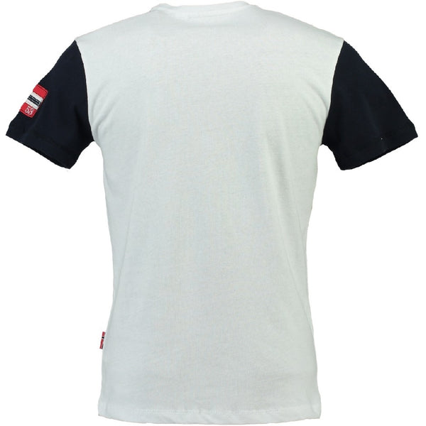 Geographical Norway Geographical norway børn tee Jamlager T-shirt White