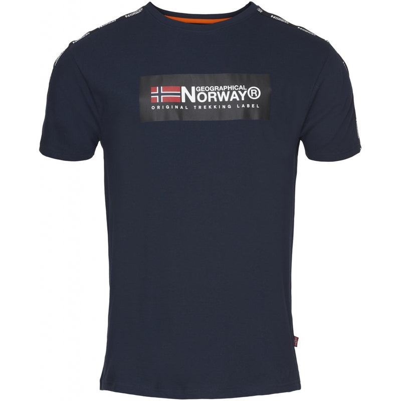 Geographical Norway Geographical norway herre tee jathlete T-shirt Navy