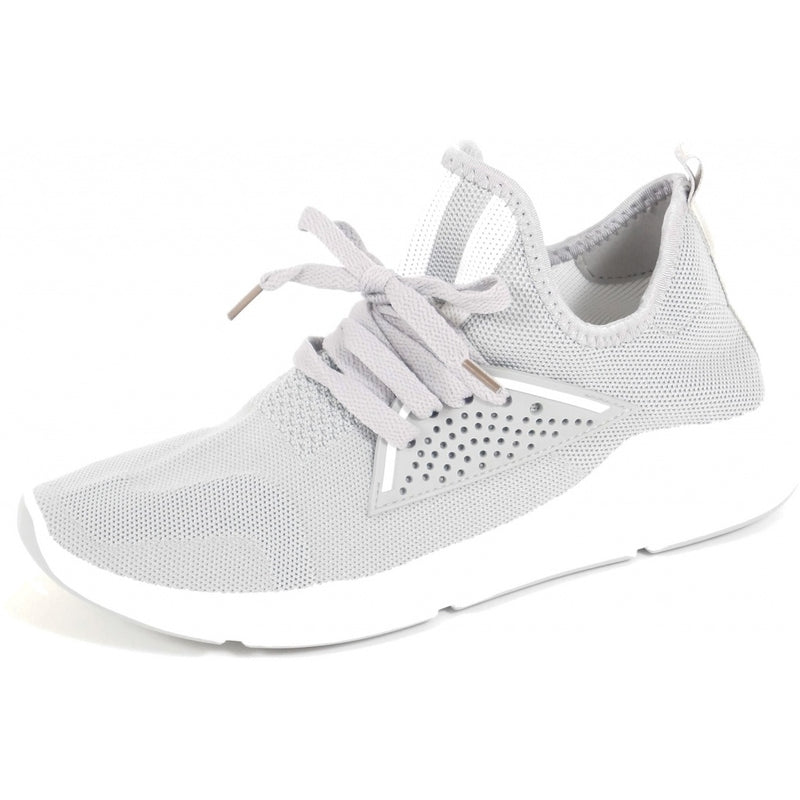 Tex-Time Herre Sneakers Strib Foran Shoes Grey