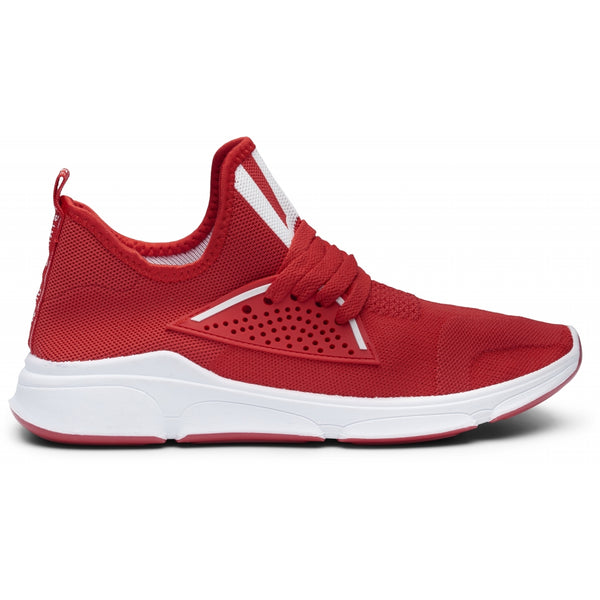 Tex-Time Herre Sneakers Strib Foran Shoes Red