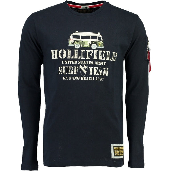 Geographical Norway Hollifield LS Tee Jarmic LS Tee Navy