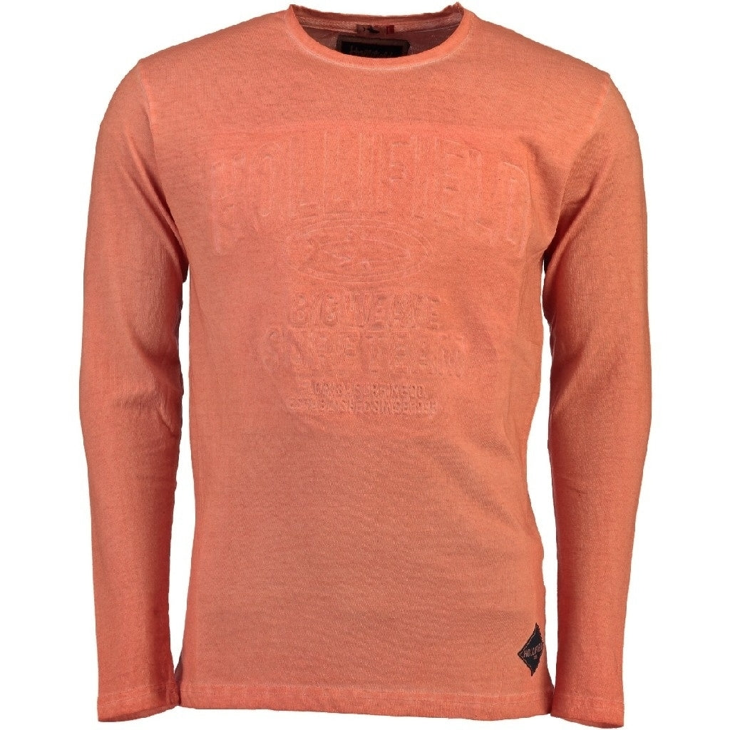 Image of   Hollifield Langærmet tee Jurfield - Coral - XL