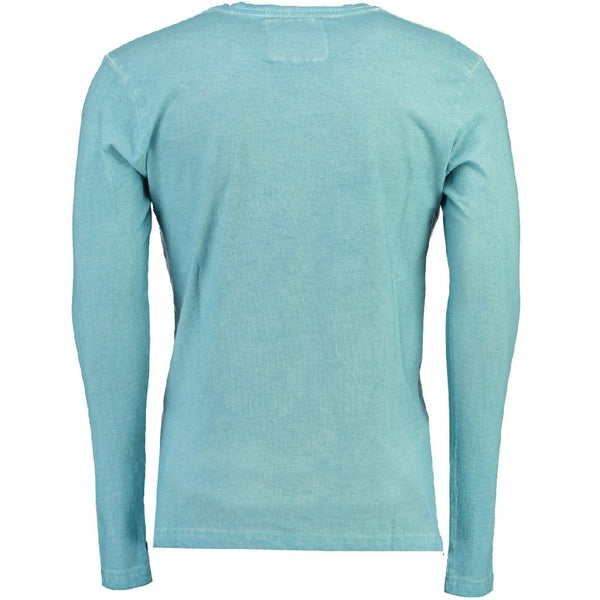 Geographical Norway Hollifield Langærmet tee Jurfield LS Tee Light blue