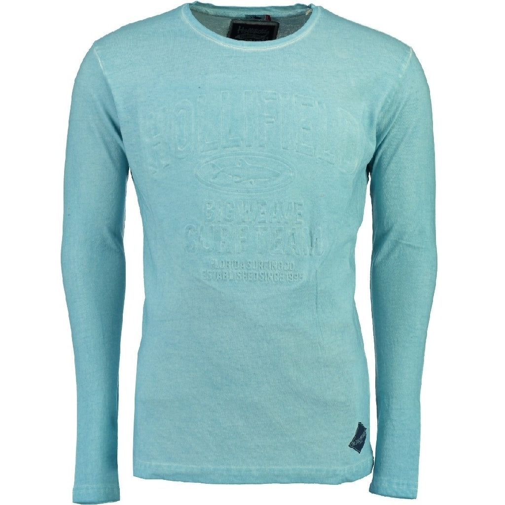 Image of   Hollifield Langærmet tee Jurfield - Light blue - S