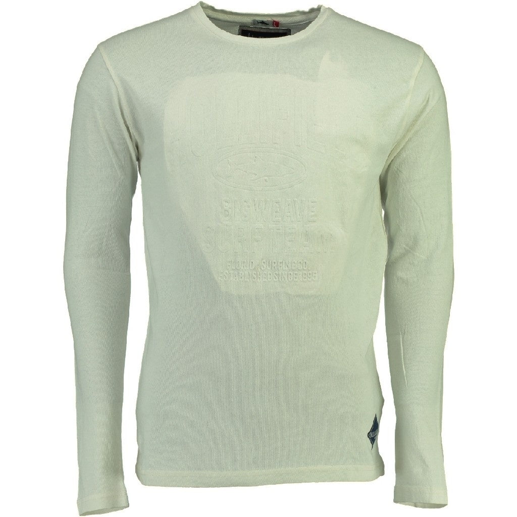 Image of   Hollifield Langærmet tee Jurfield - White - XXL