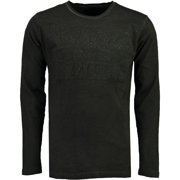 Geographical Norway Hollifield langærmet tee jaridirty LS Tee Black