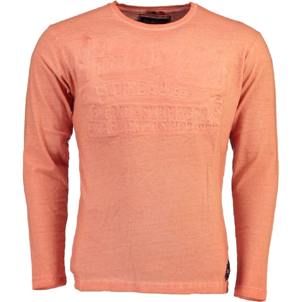 Image of   Hollifield langærmet tee jaridirty - Coral - XL