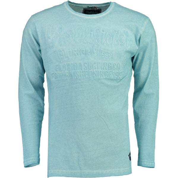 Geographical Norway Hollifield langærmet tee jaridirty LS Tee Light blue