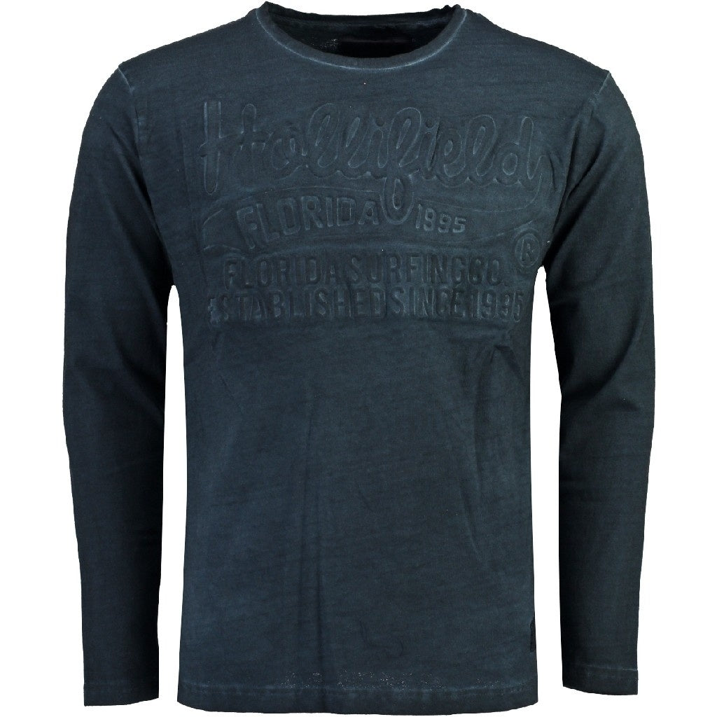 Image of   Hollifield langærmet tee jaridirty - Navy - L