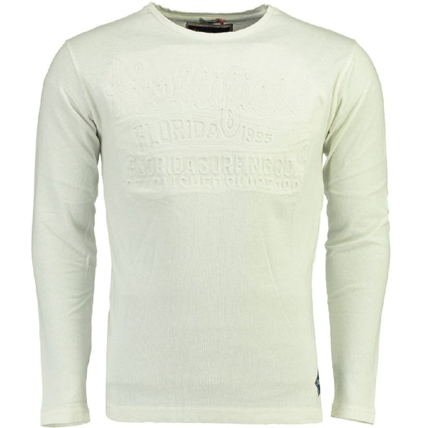 Geographical Norway Hollifield langærmet tee jaridirty LS Tee White
