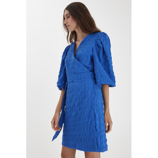 ICHI ICHI dame kjole IXHELEN Dress Blue