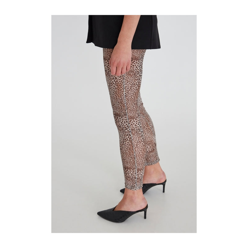 ICHI ICHI dame leggins IXMESHU Leggins Natural