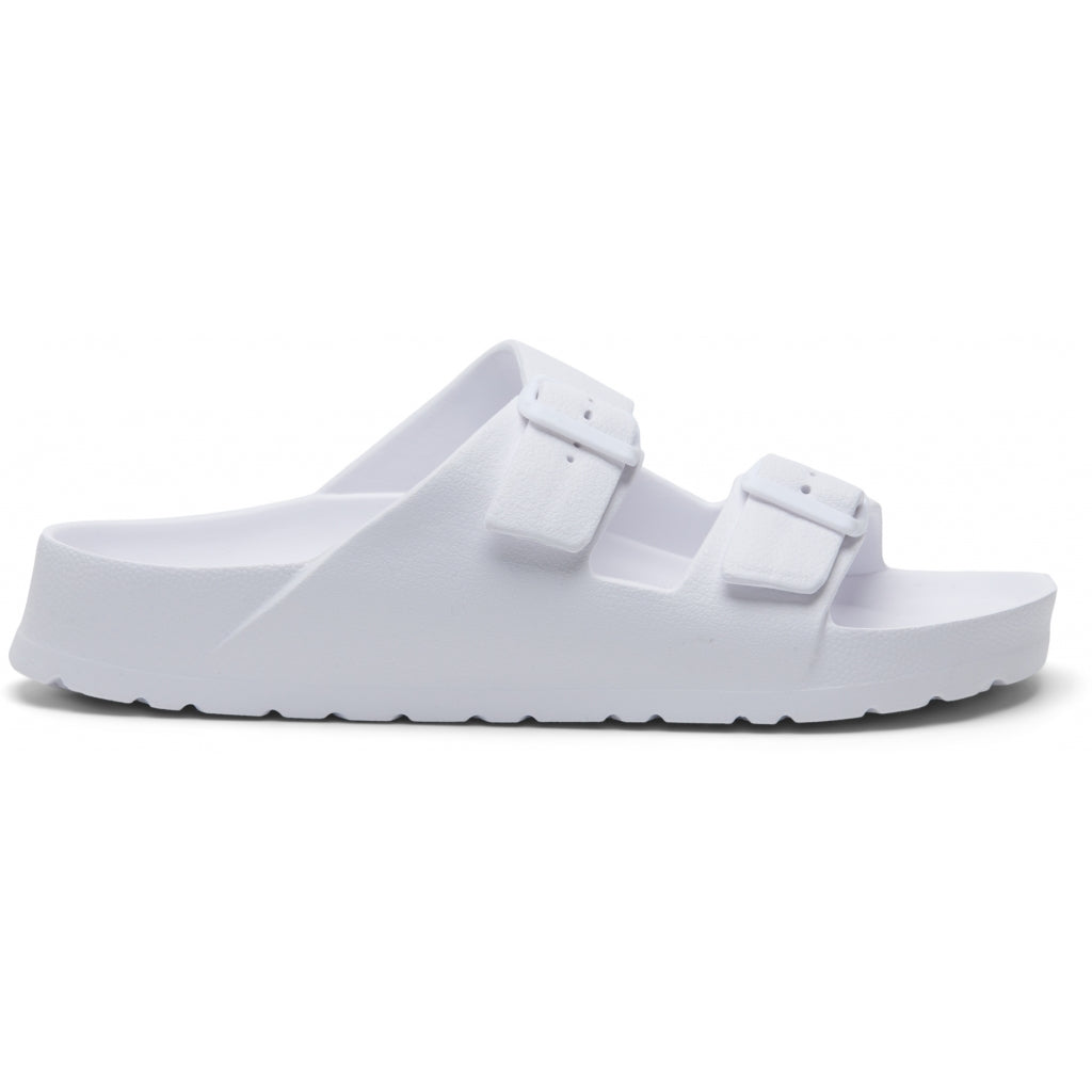 Ideal Shoes Dame Sandal 3708 - White