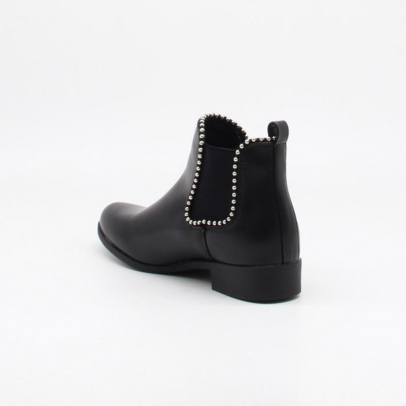 Shoes Ideal Shoes dame støvle 8160 Shoes Black
