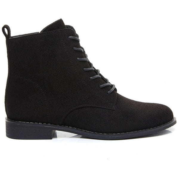 Shoes Ideal Shoes dame støvle 8322 Shoes Black