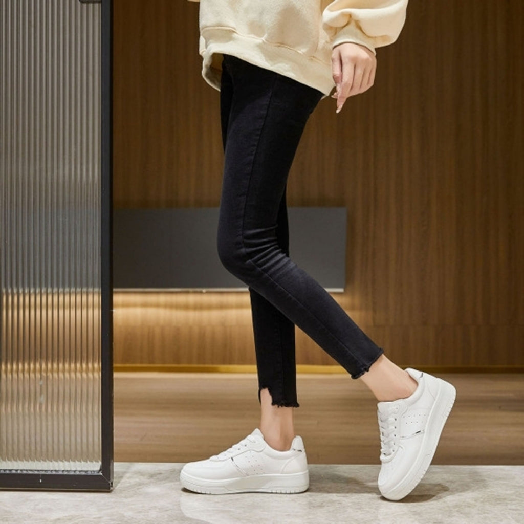Ideal shoes dame sneakers 6118 - White