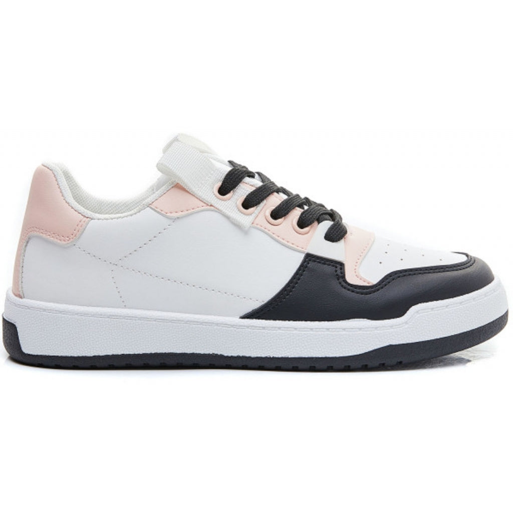 Ideal shoes dame sneakers 7820 - Black