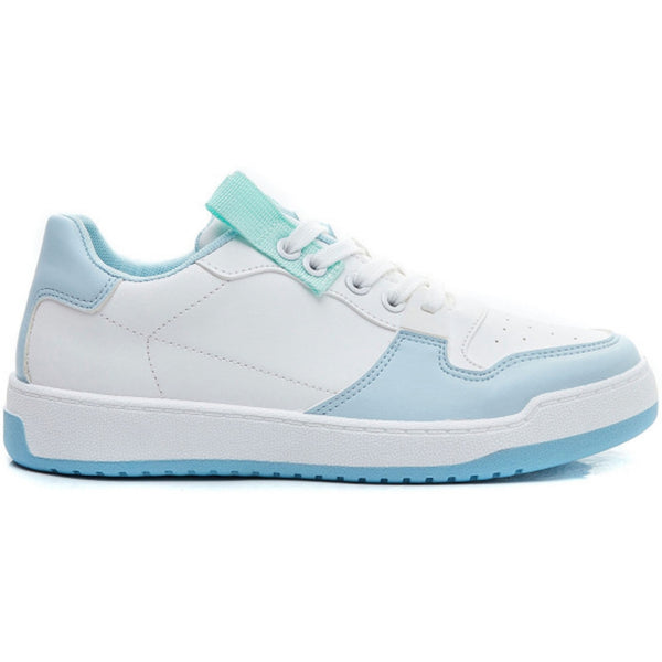 Shoes Ideal shoes dame sneakers 7820 Shoes Blue