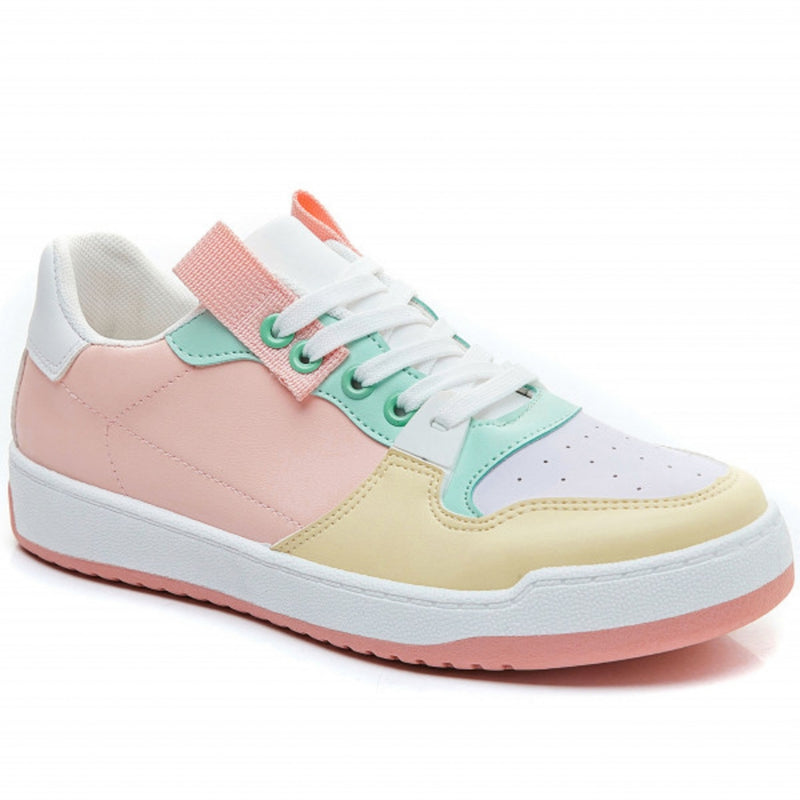 Shoes Ideal shoes dame sneakers 7820 Shoes Pink
