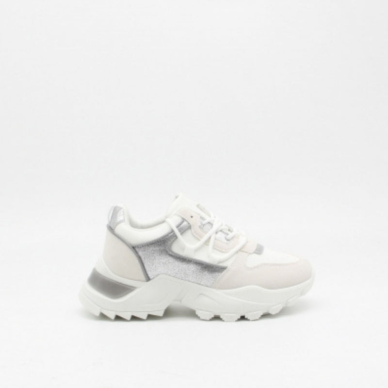 Shoes Ideal shoes dame sneakers 8110 Shoes White