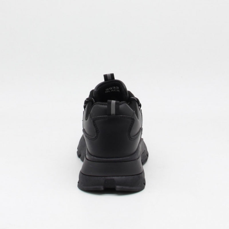 Shoes Ideal shoes dame sneakers 9932 Shoes Black