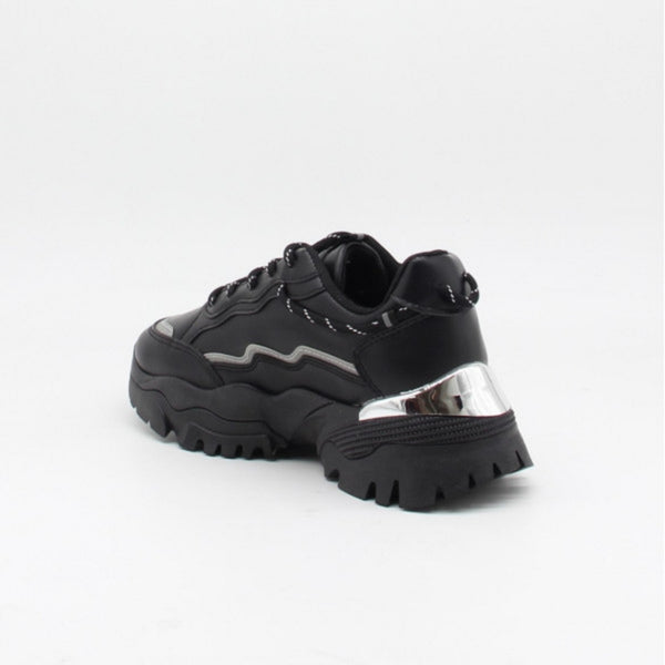 Shoes Ideal shoes dame sneakers 9933 Shoes Black
