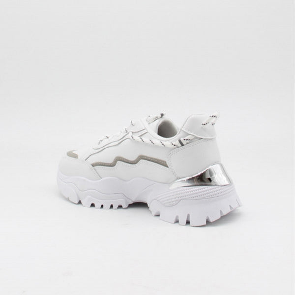 Shoes Ideal shoes dame sneakers 9933 Shoes White