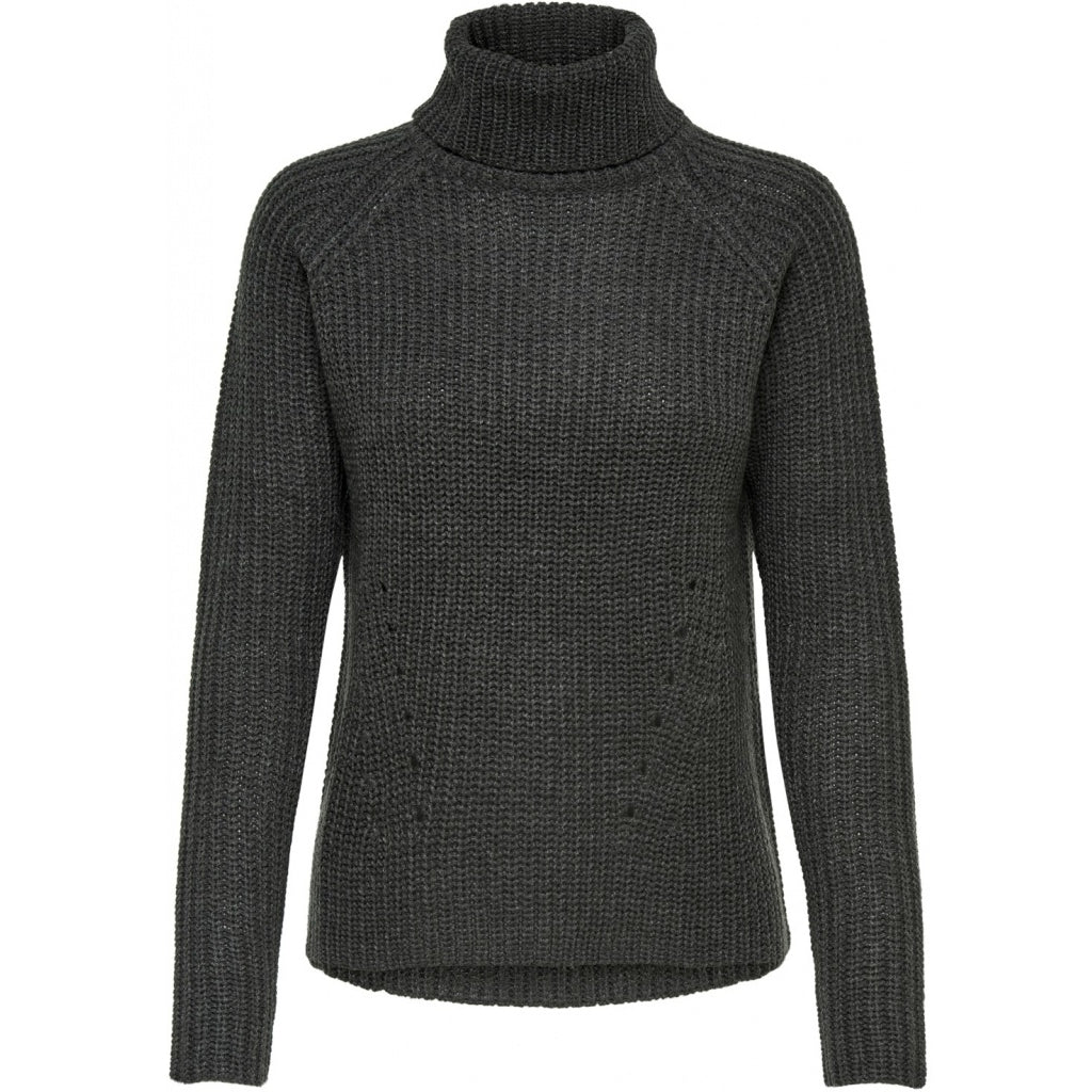 Image of   JDY Dame knit JDYJUSTY - Dark Grey - L