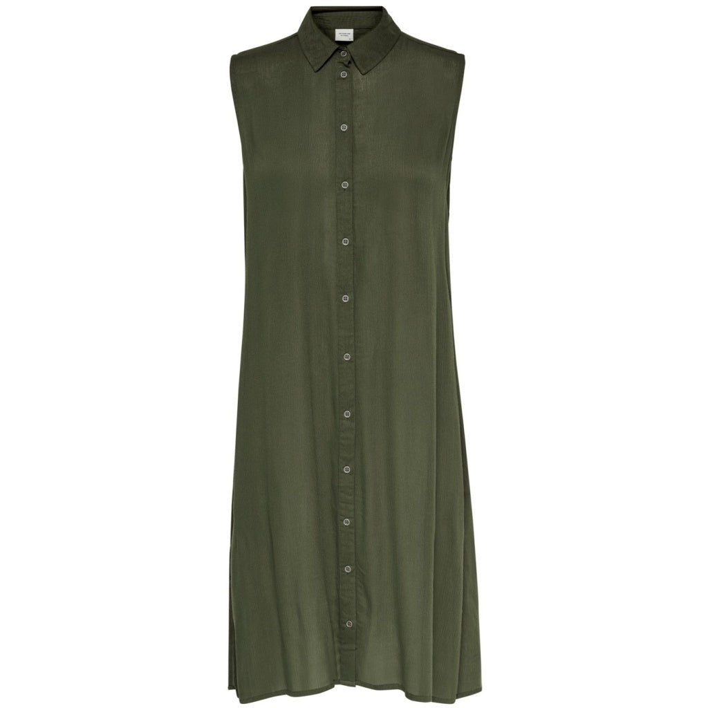 Image of   JDY Elena Shirt Dress - Green - 34