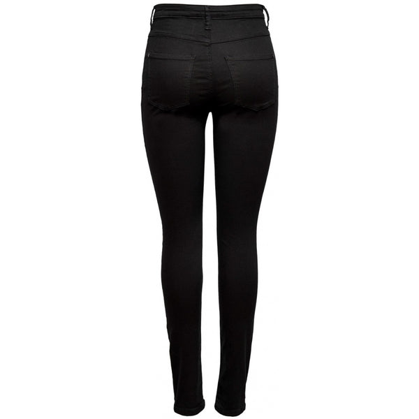 Jacqueline De Yong JDY Jona Skinny High But Fly Jeans Jeans Black