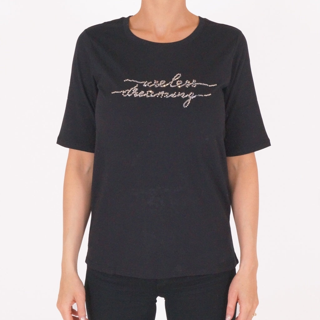 Image of   JDY Kaia SS Top - Black - XL