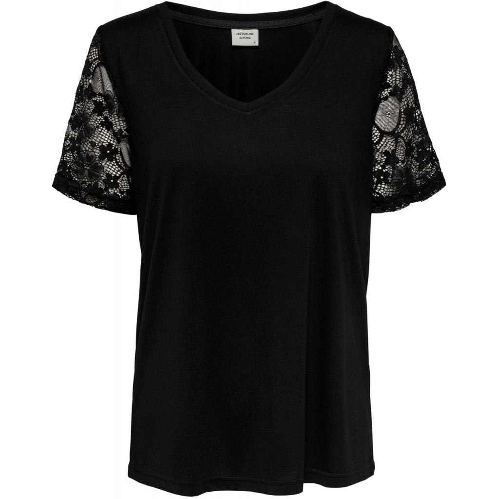 Image of   JDY Kim Treats Top - Black - XL