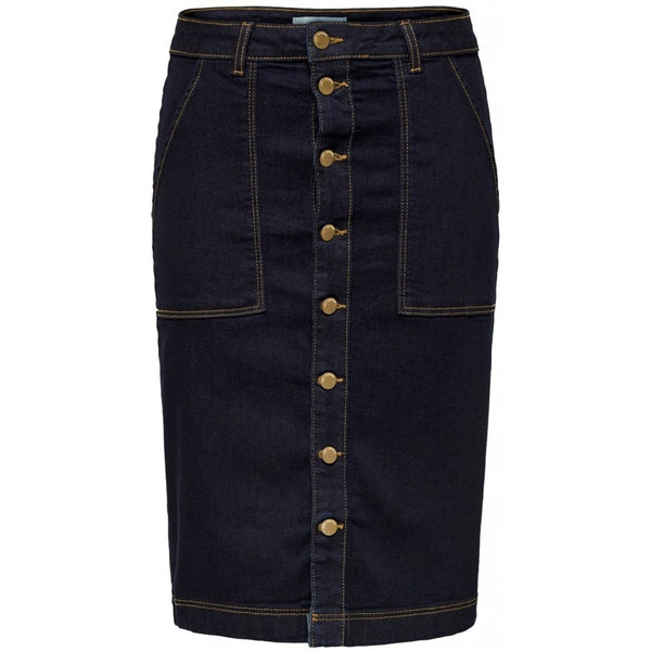 Jacqueline De Yong JDY Raw Worker Skirt Skirt Dark Blue