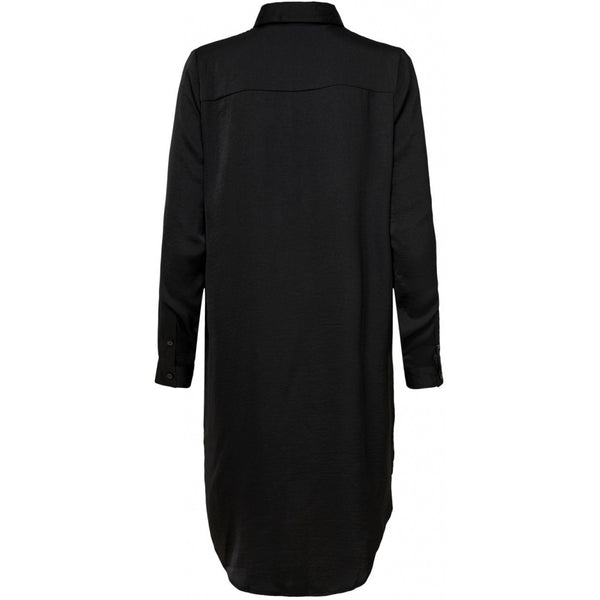 Jacqueline De Yong JDY Tara Long Shirt Dress Black