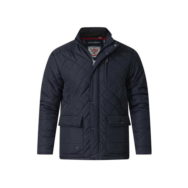 Duke Clothing Jakke Herre D555 JUSTIN Jacket Black