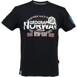 Geographical Norway Jarbone SS Men T-shirt Black