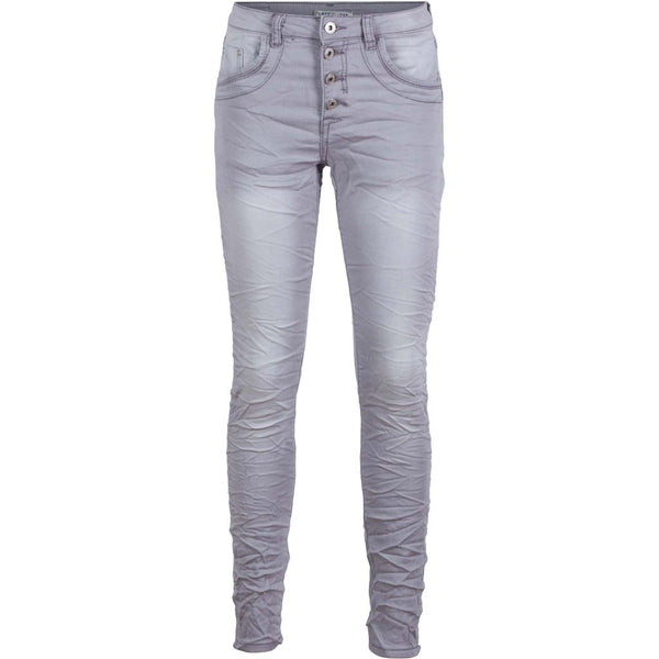 Place Du Jour Jeans Dame Tulipan PLACE du JOUR Jeans Light Grey