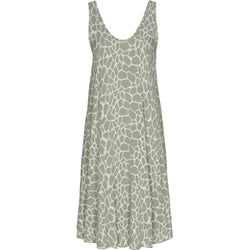 MARTA DU CHATEAU Let sommerkjole Dress Giraf Print Military