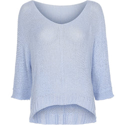 MARTA DU CHATEAU Marta du Chateau Strik 7010 Knit Light blue