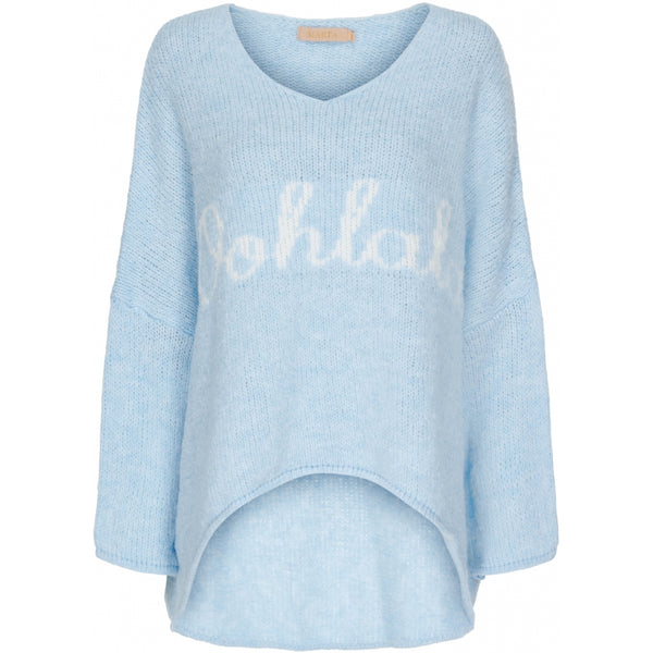 MARTA DU CHATEAU Marta du Chateau strik 201385 Knit Light blue