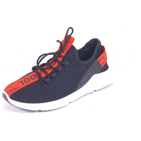 Tex-Time Mens sneaker NK373 Shoes Black