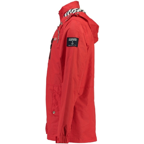 Geographical Norway GEOGRAPHICAL NORWAY Sommerjakke Herre CAPRICE Spring jacket Red/Navy
