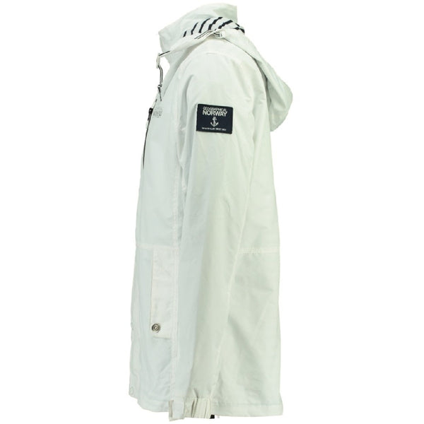 Geographical Norway GEOGRAPHICAL NORWAY Sommerjakke Herre CAPRICE Spring jacket White/Navy