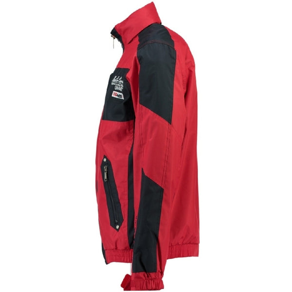 Geographical Norway GEOGRAPHICAL NORWAY Herre forårs jakke ADEQUAT Spring jacket Red/Navy