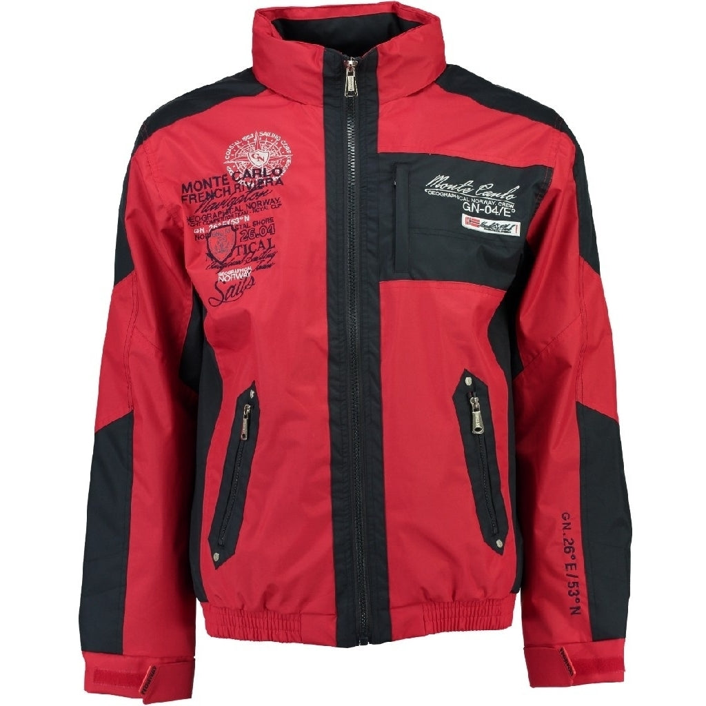Image of   GEOGRAPHICAL NORWAY Herre forårs jakke ADEQUAT - Red/Navy - L