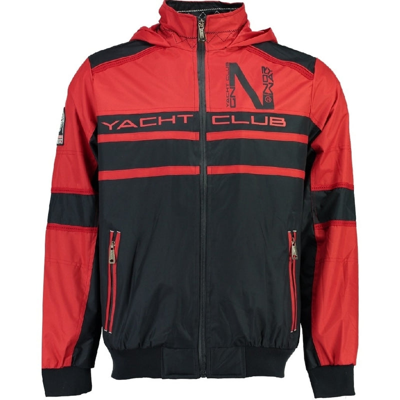 Geographical Norway GEOGRAPHICAL NORWAY Sommerjakke Herre BABAR Spring jacket Red/Navy